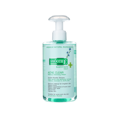 Smooth E Acne Clear Makeup Cleansing Water